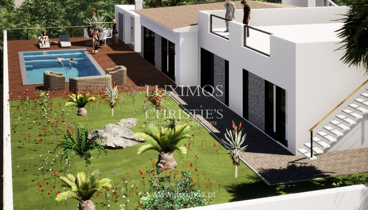 Villa de 3 chambres à vendre, avec piscine, Santa Barbara de Nexe, Algarve_149764