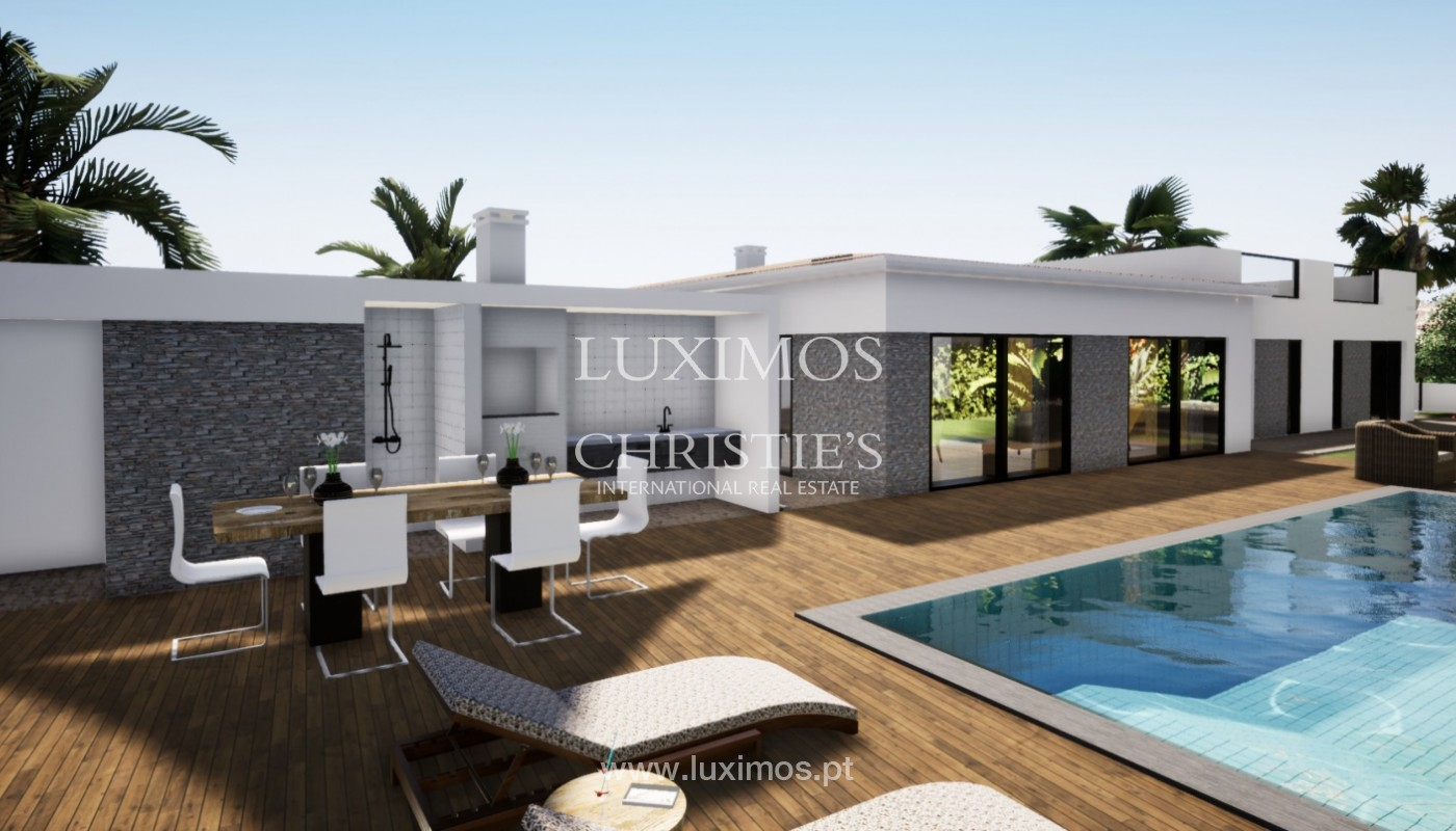 Villa de 3 chambres à vendre, avec piscine, Santa Barbara de Nexe, Algarve_149767