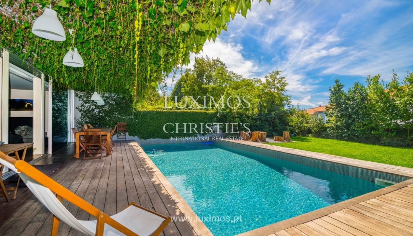 Se vende villa de lujo, con jardín y piscina, Aldoar, Porto, Portugal_149808