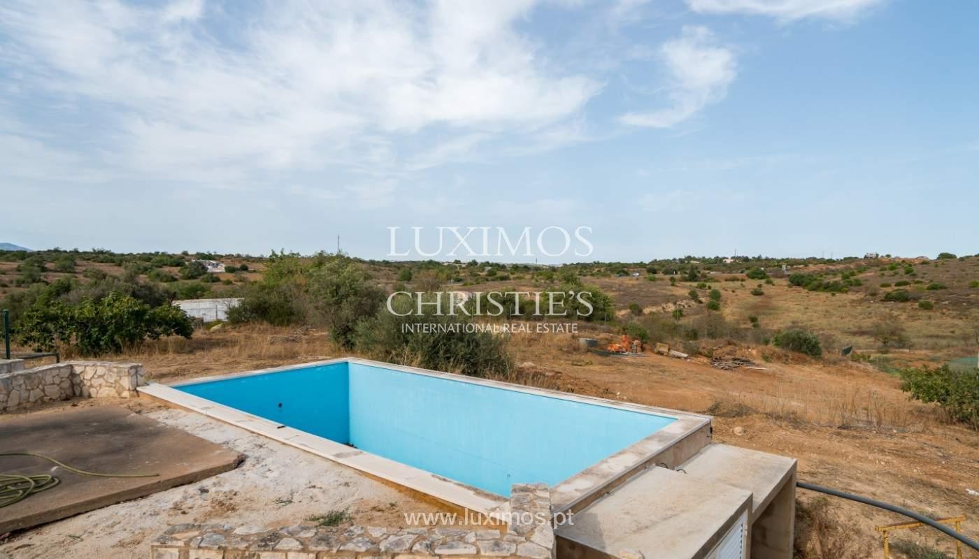 Bauernhof mit Villa mit 3 Schlafzimmern, Pool und Garten, zu verkaufen, Lagoa, Algarve_150027