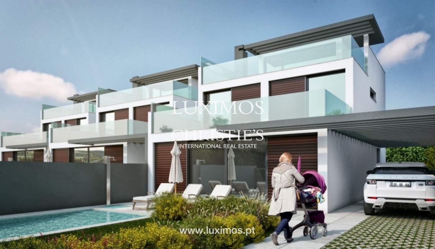Villa de 3 chambres, en construction, avec piscine, Tavira, Algarve_150176