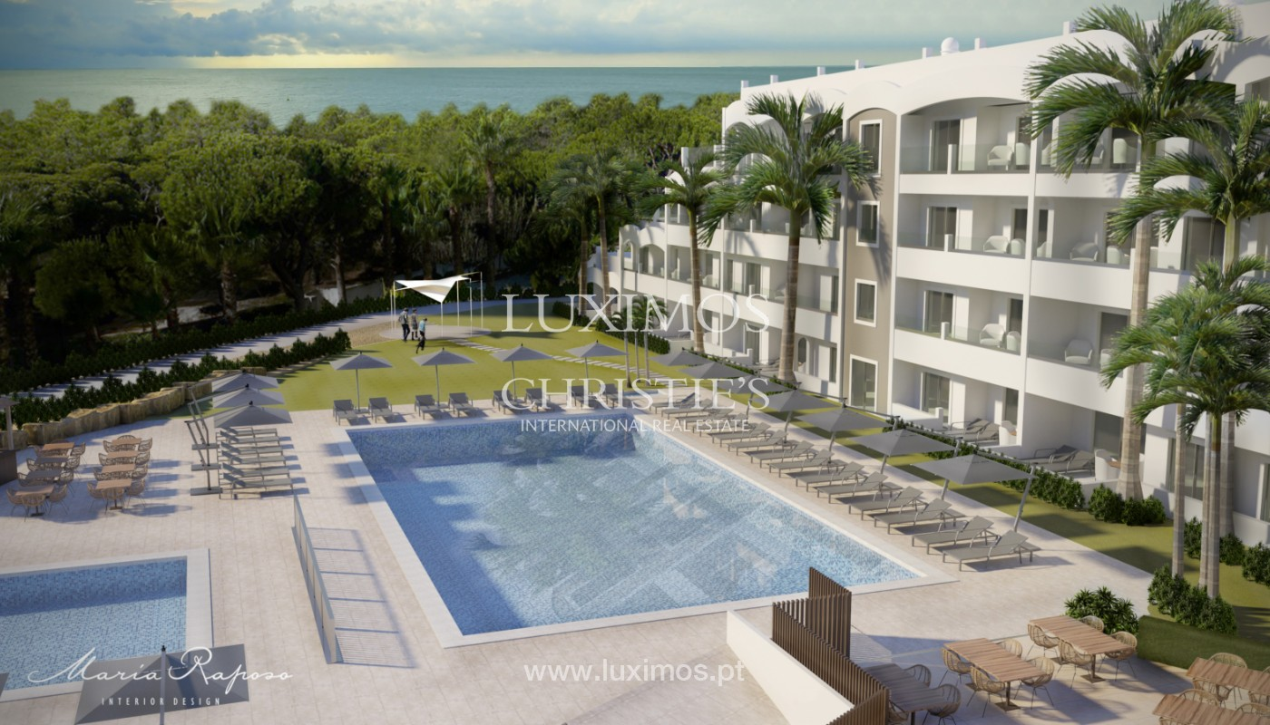 Modern apartment, closed condominium, for sale, Almancil, Algarve_150186