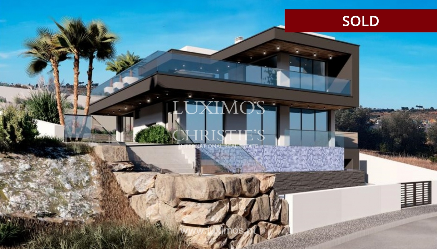 Villa de 4 dormitorios con piscina, en construcción, Albufeira, Algarve_150207