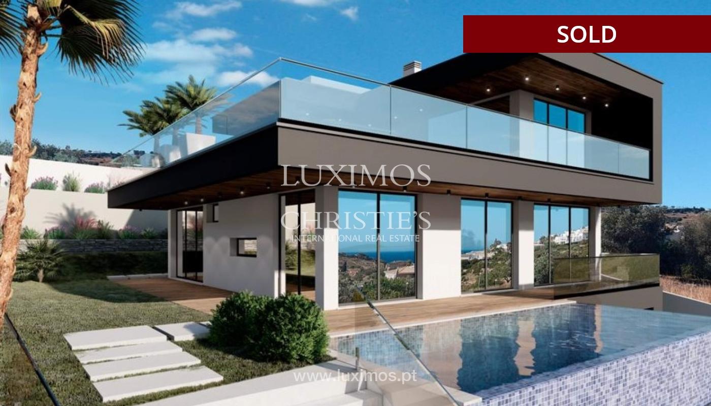 Villa de 4 dormitorios con piscina, en construcción, Albufeira, Algarve_150208