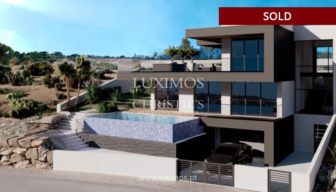 Villa de 4 dormitorios con piscina, en construcción, Albufeira, Algarve_150209
