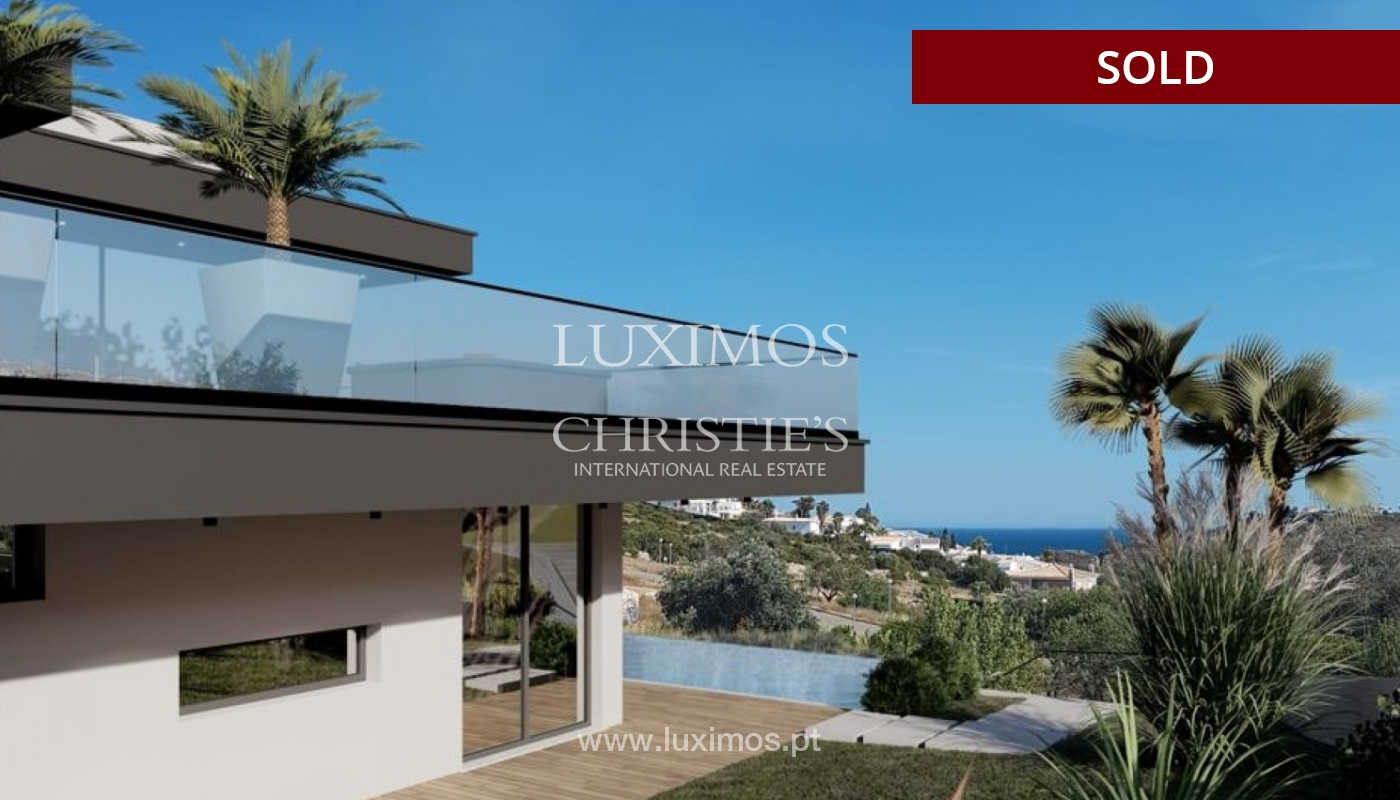 Villa de 4 dormitorios con piscina, en construcción, Albufeira, Algarve_150210