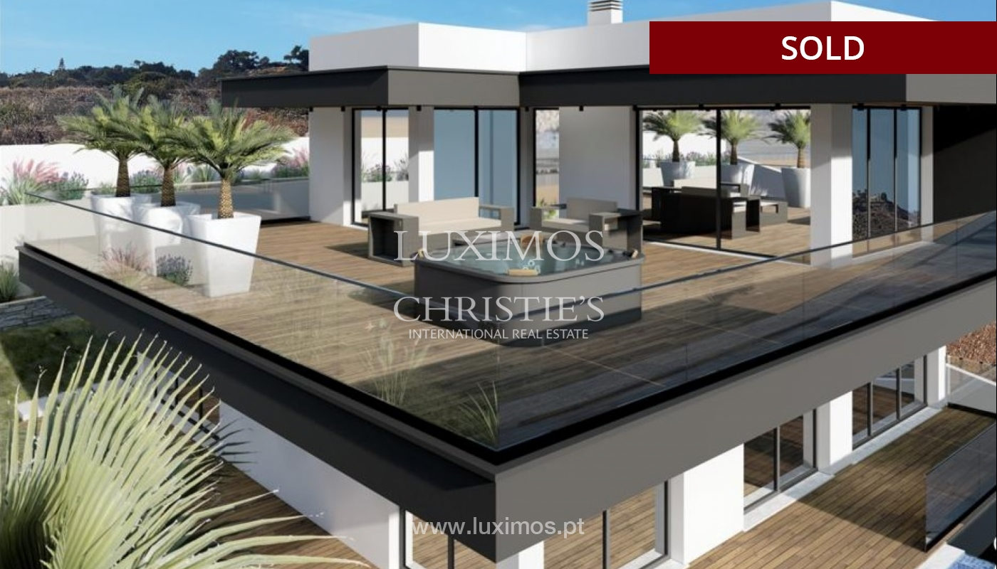 Villa with 4 Bedrooms, swimming pool, under construction, Albufeira, Algarve_150211