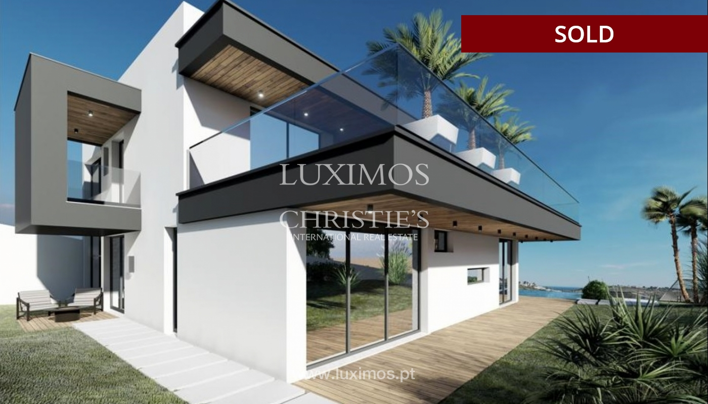 Villa de 4 dormitorios con piscina, en construcción, Albufeira, Algarve_150213
