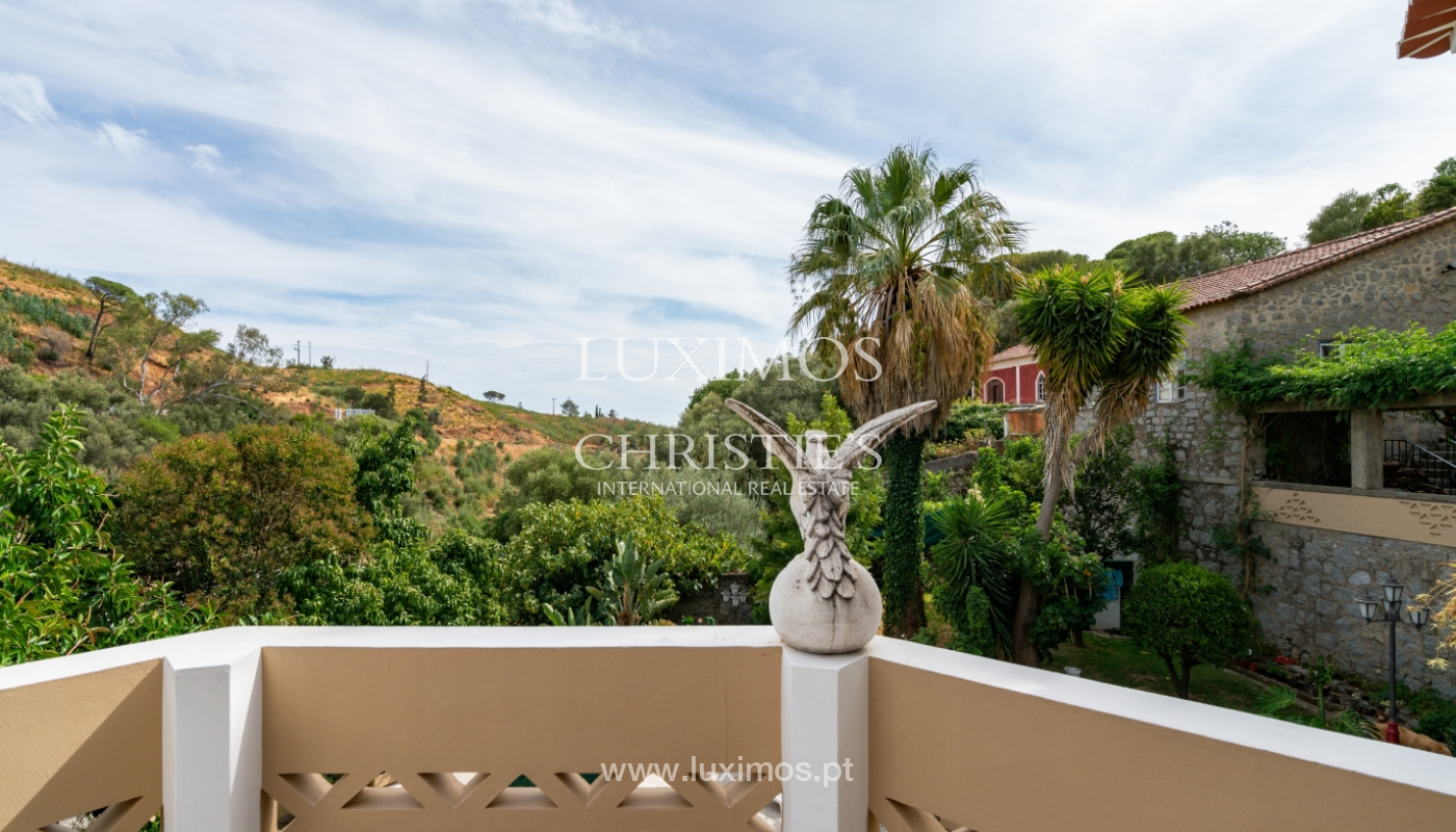 Superbe maison avec jardins et piscine, Caldas de Monchique, Algarve_150363