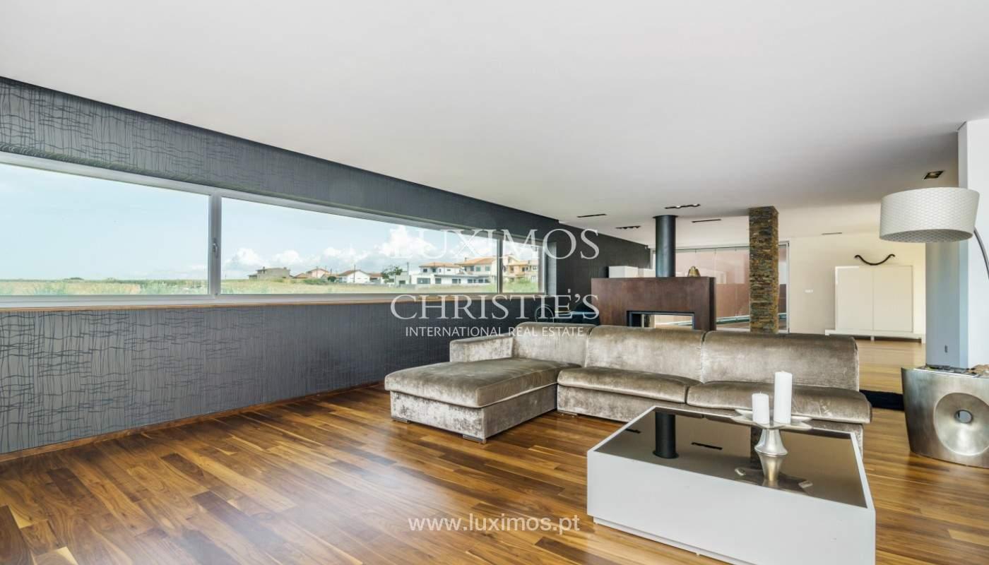 Zeitgenössische Luxusvilla, zu verkaufen, Labruge, Vila Conde, Portugal_150427