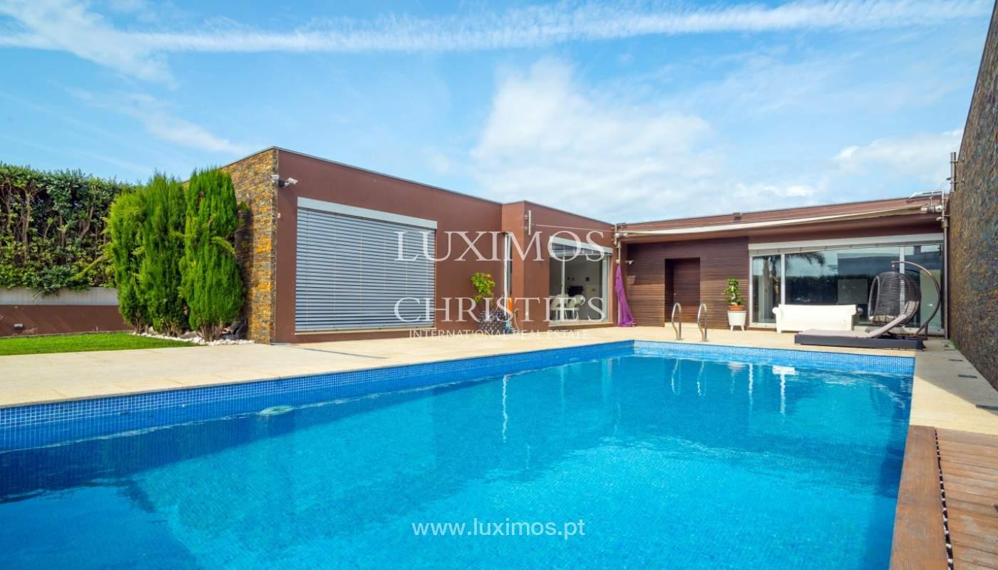 Zeitgenössische Luxusvilla, zu verkaufen, Labruge, Vila Conde, Portugal_150442