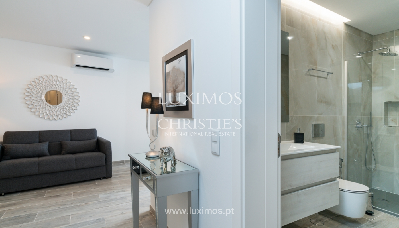 Building with apartments and commercial spaces, Downtown Faro, Algarve_150519