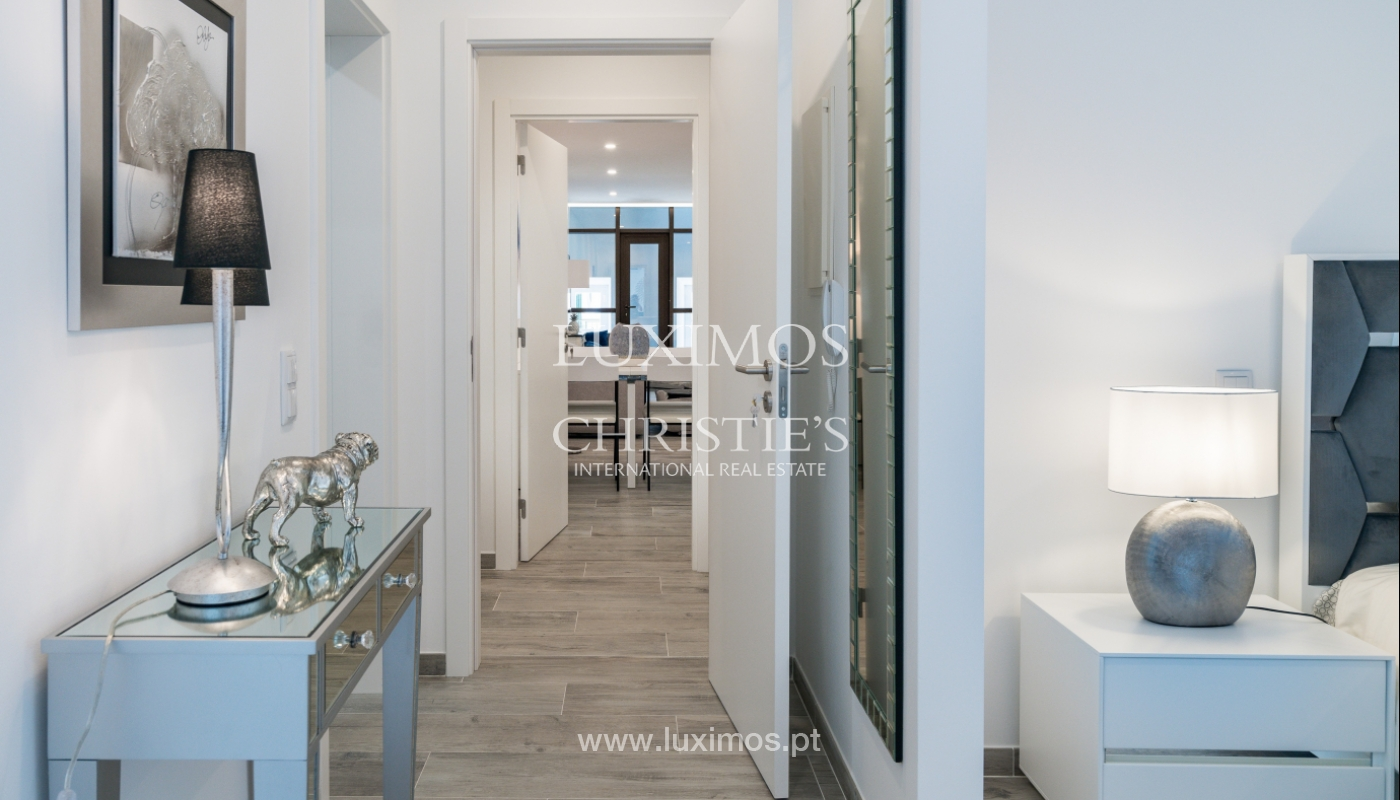 Building with apartments and commercial spaces, Downtown Faro, Algarve_150520