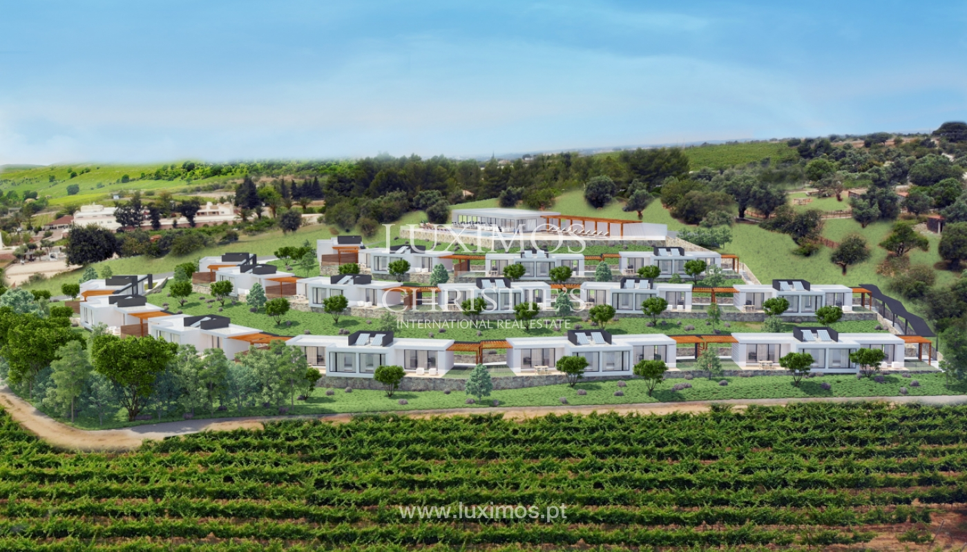 Modern apartment, overlooking the vineyard hills, Lagoa, Algarve_150748