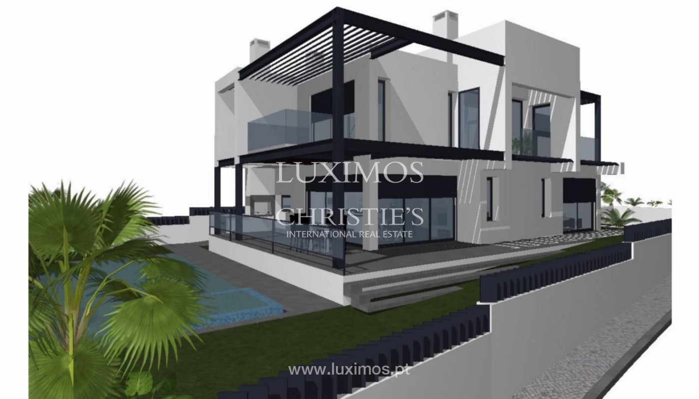 New 3 Bedroom Villa, with swimming pool and garden, Olhão, Algarve_150805