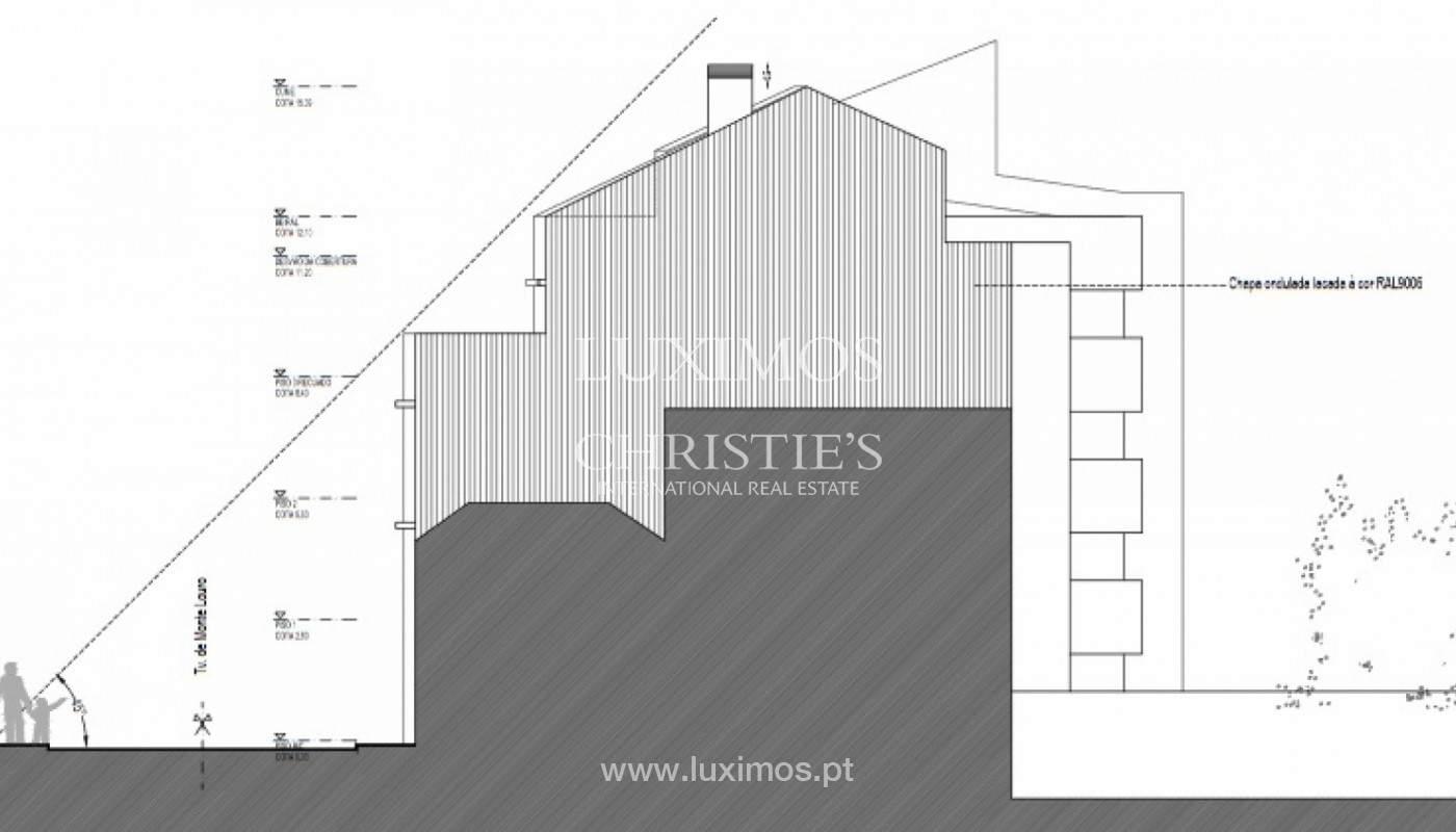 Lote con proyecto aprobado para construcción de edificio, en venta, Porto, Portugal_150814