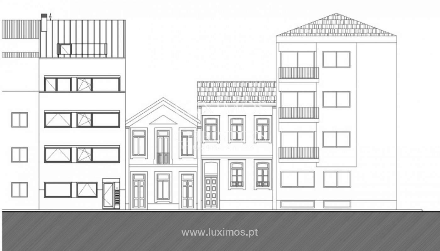 Lote con proyecto aprobado para construcción de edificio, en venta, Porto, Portugal_150815