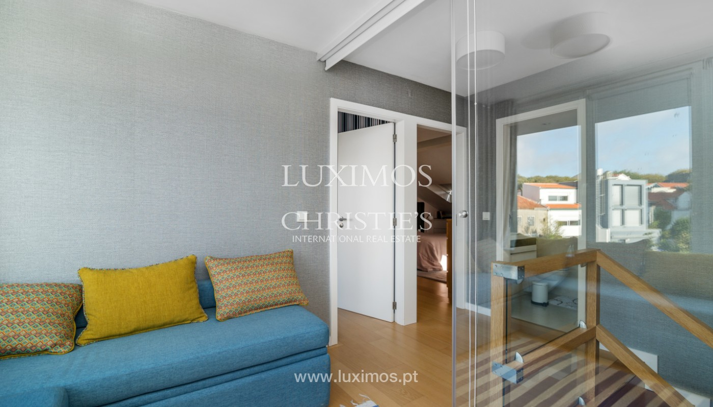 Penthouse duplex with ocean views, for sale, in Foz do Douro, Portugal_150903