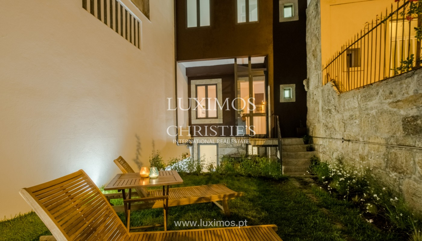 Rehabilitated house with garden, for sale, in Porto Centre, Portugal_151460