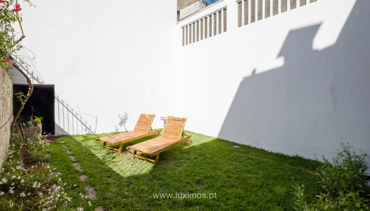 Rehabilitated house with garden, for sale, in Porto Centre, Portugal_151465