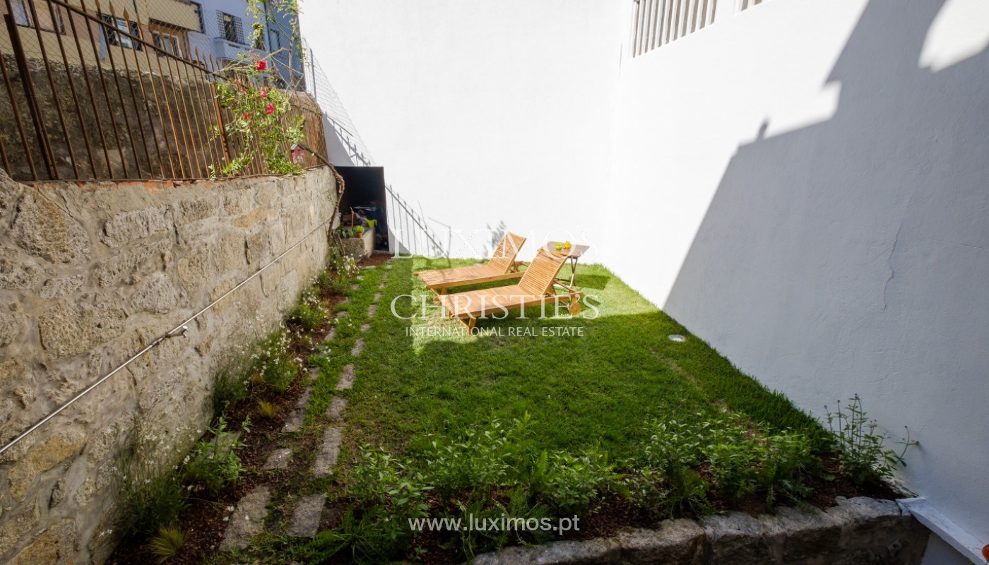 Rehabilitated house with garden, for sale, in Porto Centre, Portugal_151467