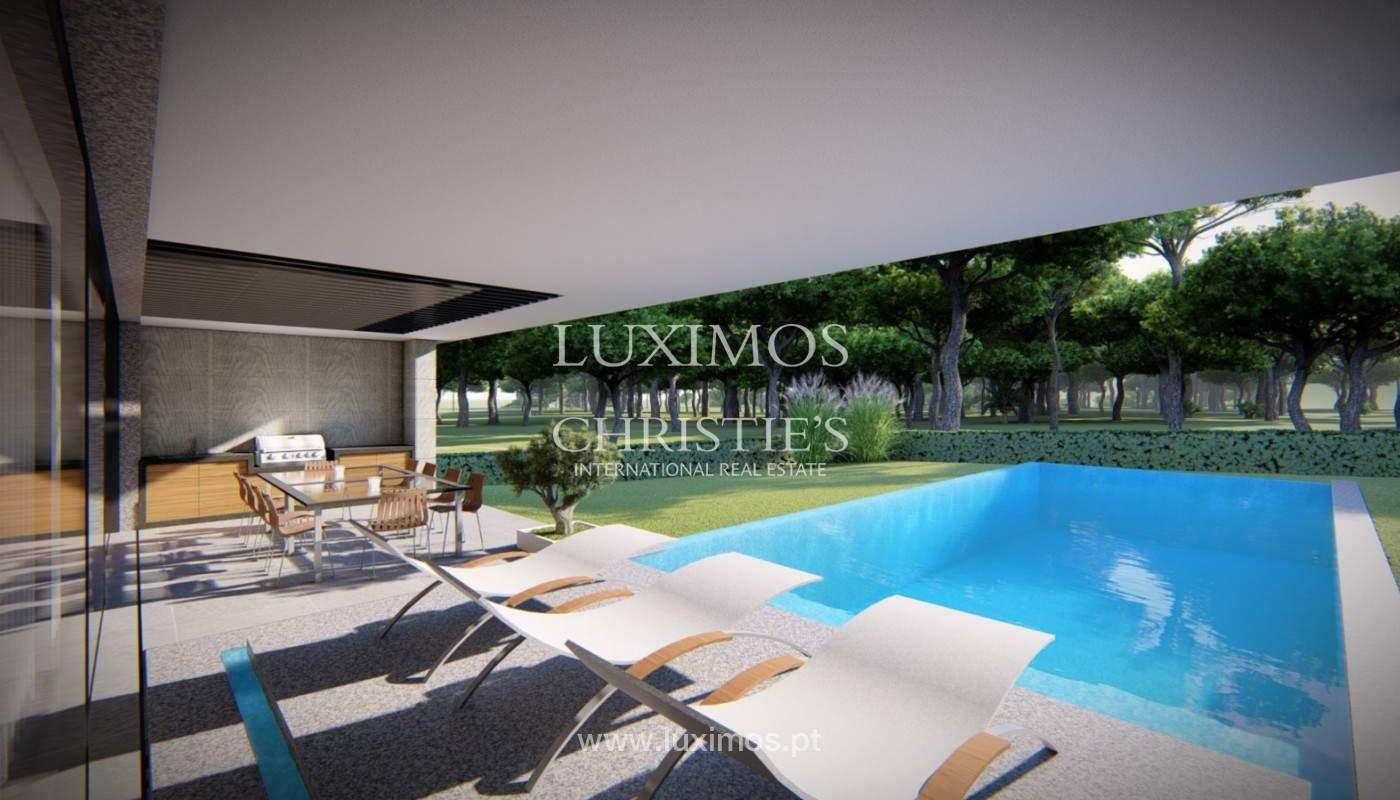 Grundstück mit Projekt für Villa V4, Vale do Lobo, Algarve_151945