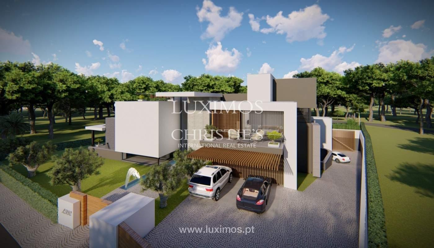 Grundstück mit Projekt für Villa V4, Vale do Lobo, Algarve_151946