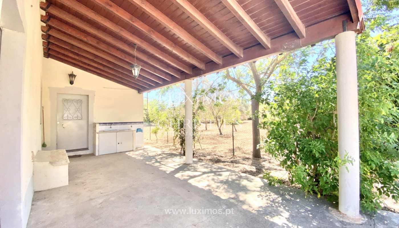 Moradia Terrea V3, com quintal, para venda, Loulé, Algarve_152223