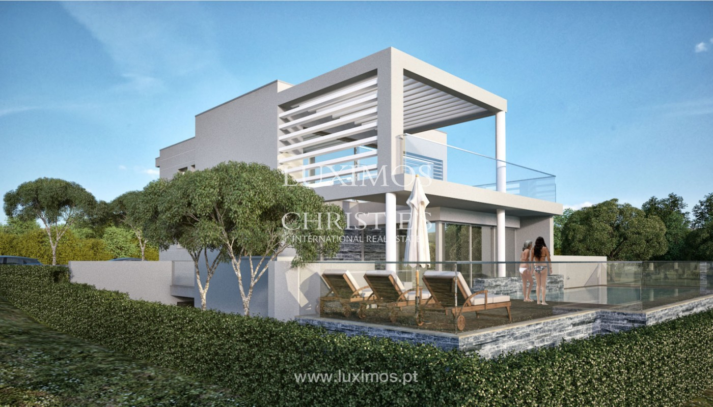 Villa with 3 Bedrooms, under construction, Almancil, Algarve_152443