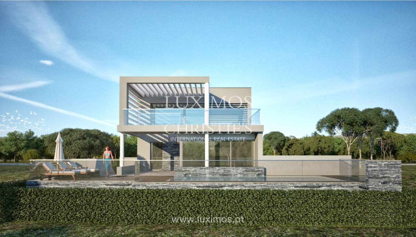 Villa with 3 Bedrooms, under construction, Almancil, Algarve_152446