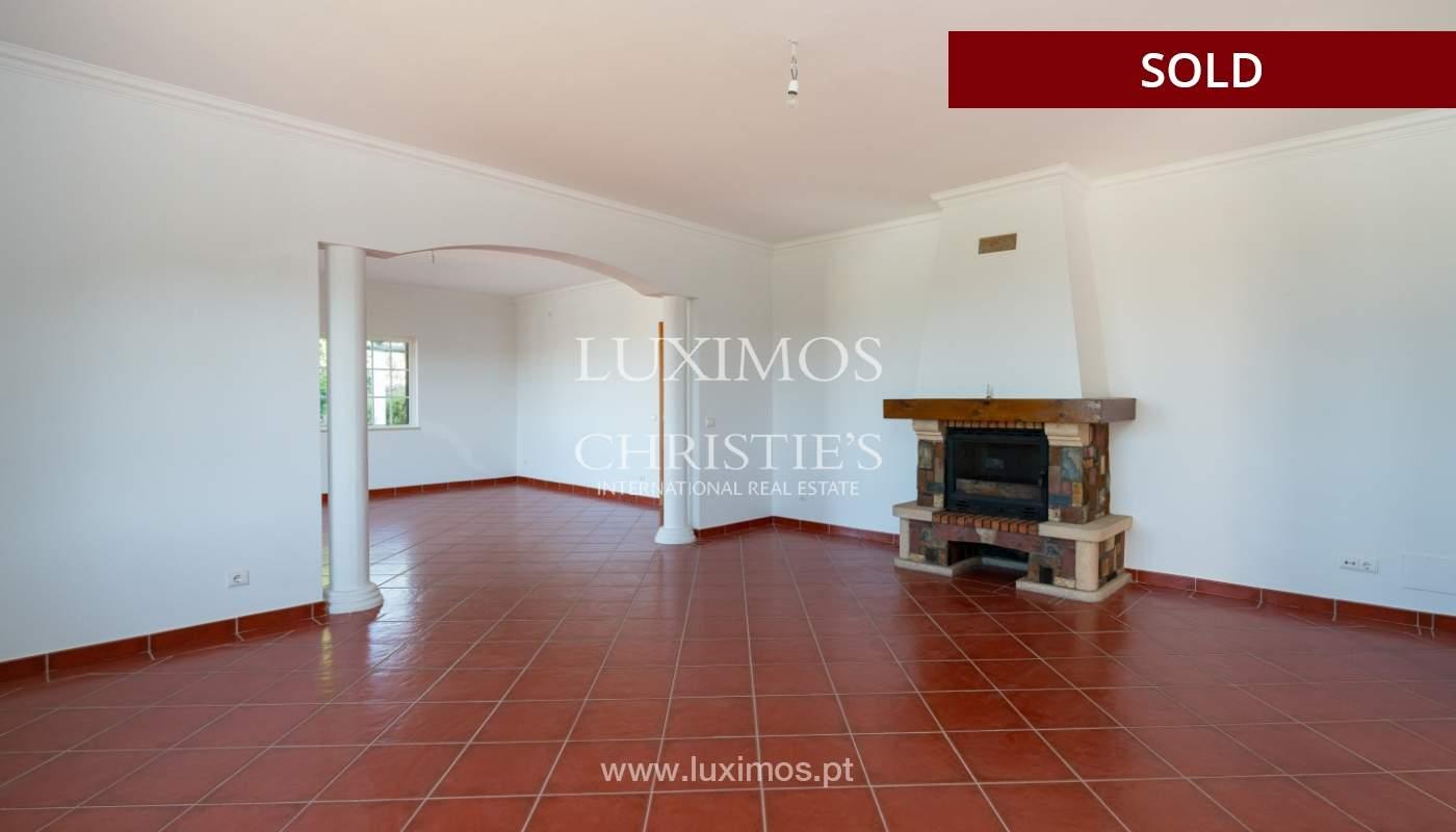 Villa de 4 dormitorios, con piscina y vista al mar, Boliqueime, Algarve_152456