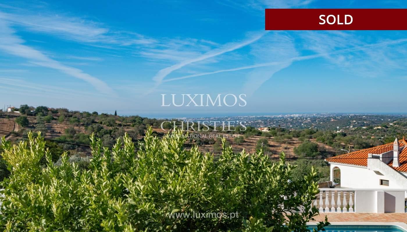 Villa de 4 dormitorios, con piscina y vista al mar, Boliqueime, Algarve_152462