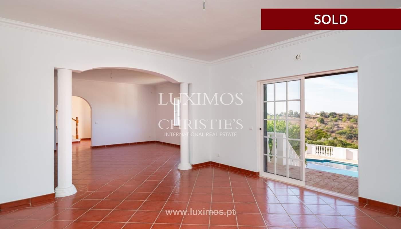 Villa de 4 dormitorios, con piscina y vista al mar, Boliqueime, Algarve_152463