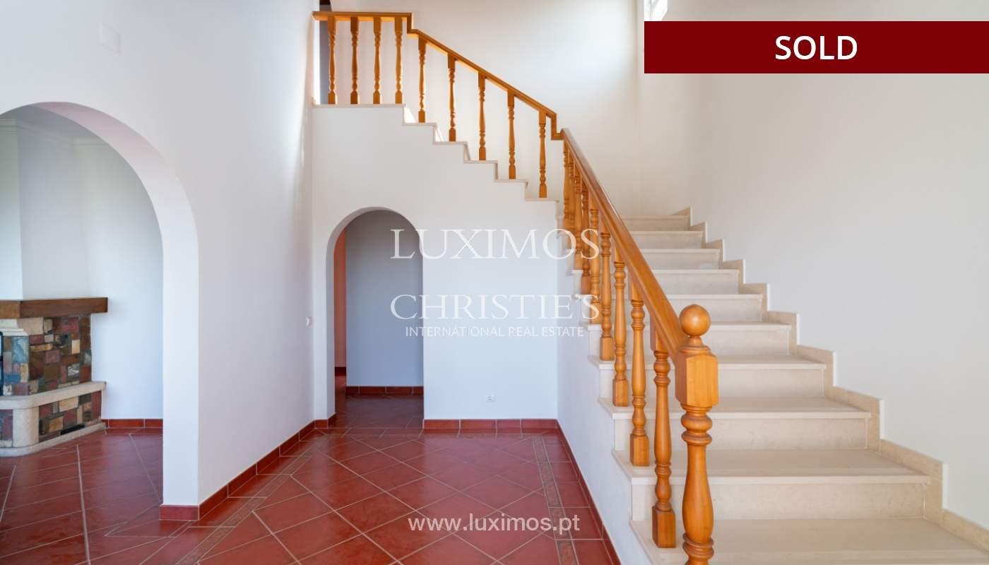 Villa de 4 dormitorios, con piscina y vista al mar, Boliqueime, Algarve_152464