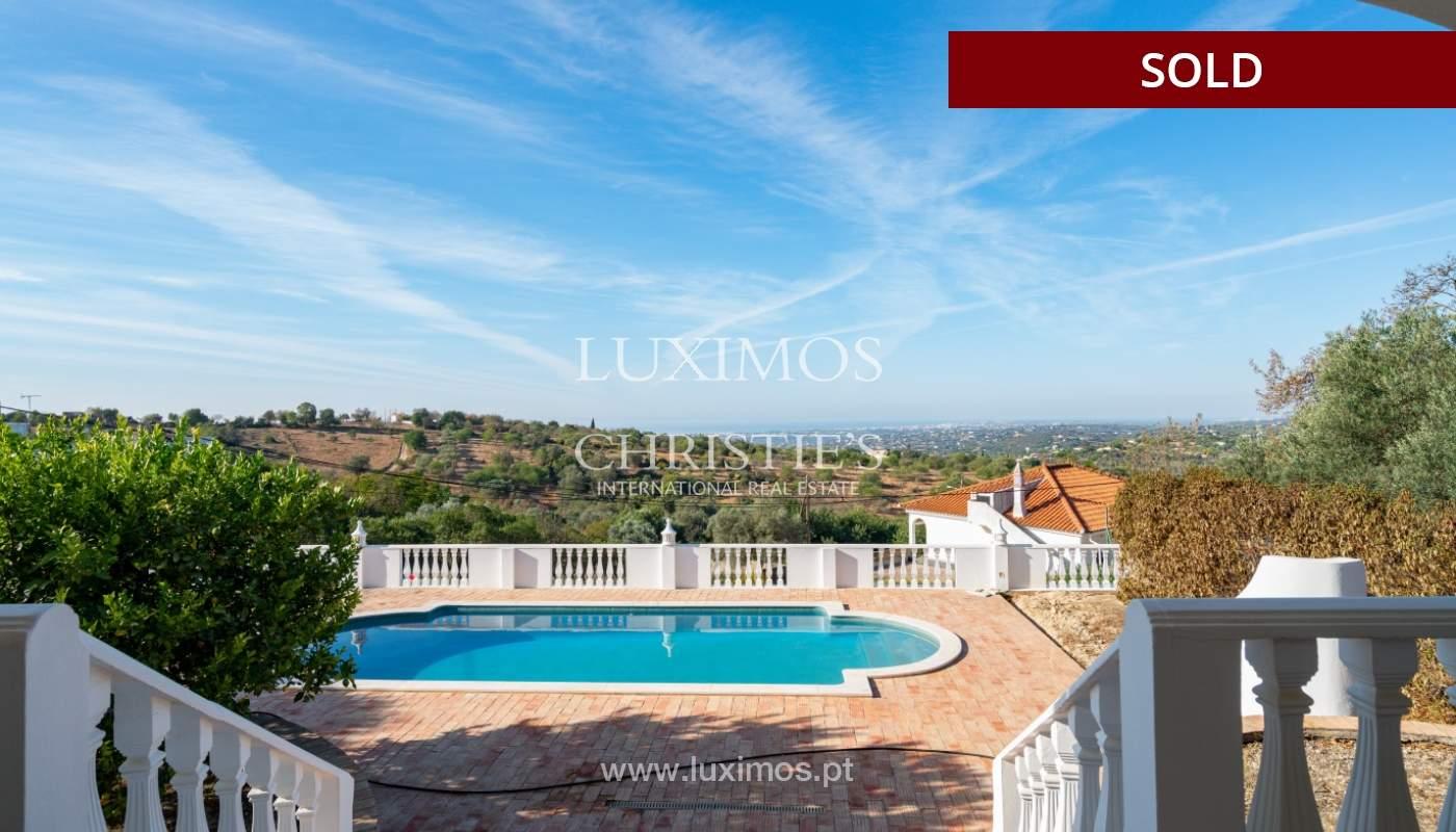 Villa de 4 dormitorios, con piscina y vista al mar, Boliqueime, Algarve_152465