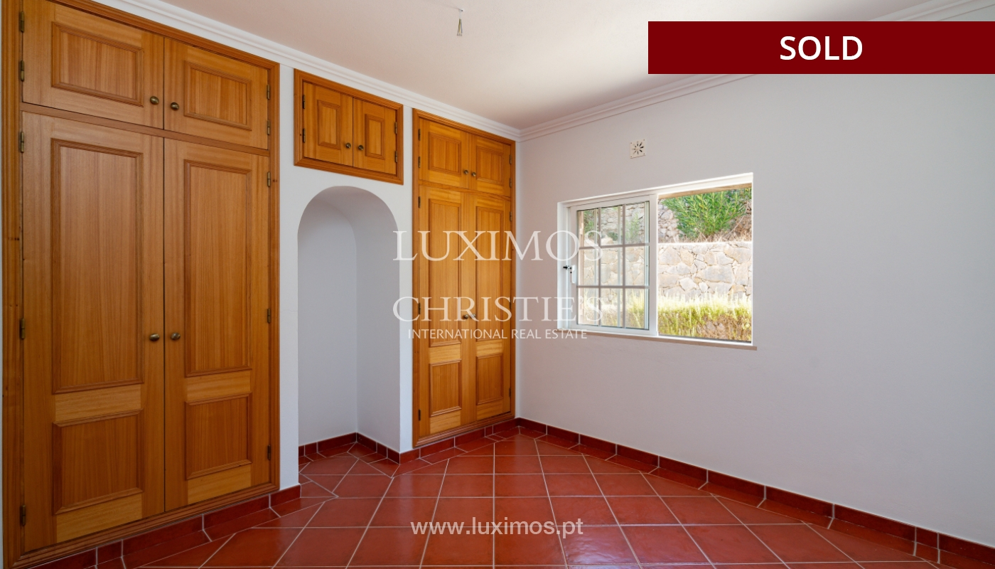 Villa de 4 dormitorios, con piscina y vista al mar, Boliqueime, Algarve_152472