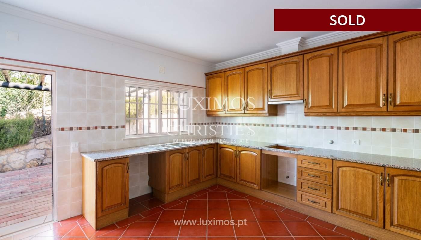 Villa de 4 dormitorios, con piscina y vista al mar, Boliqueime, Algarve_152474
