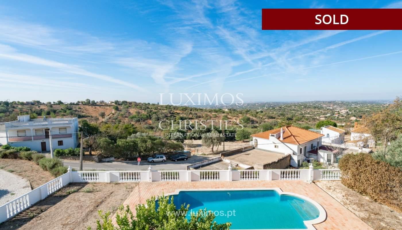 Villa de 4 dormitorios, con piscina y vista al mar, Boliqueime, Algarve_152482