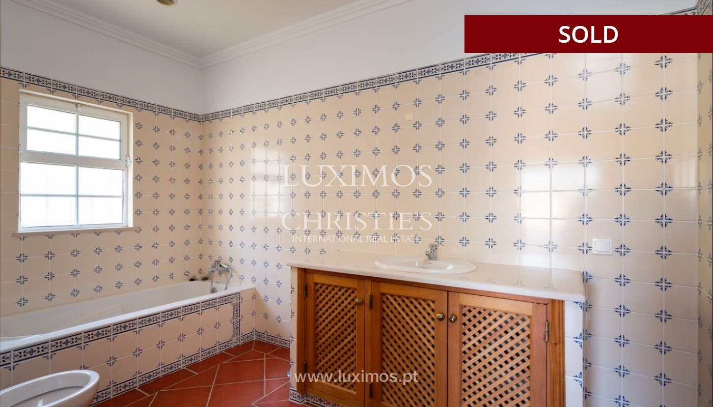 Villa de 4 dormitorios, con piscina y vista al mar, Boliqueime, Algarve_152486