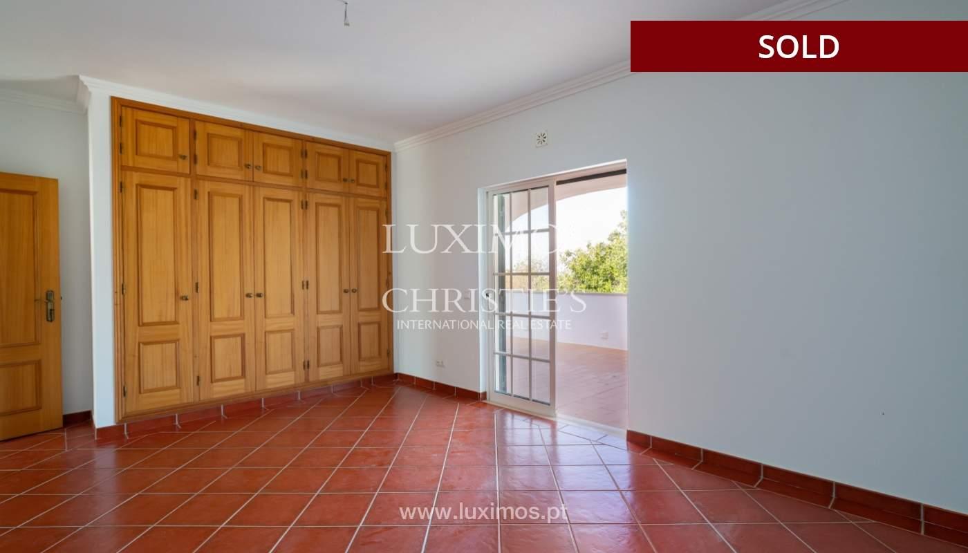 Villa de 4 dormitorios, con piscina y vista al mar, Boliqueime, Algarve_152488