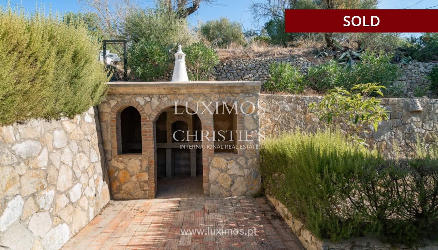 Villa de 4 dormitorios, con piscina y vista al mar, Boliqueime, Algarve_152491