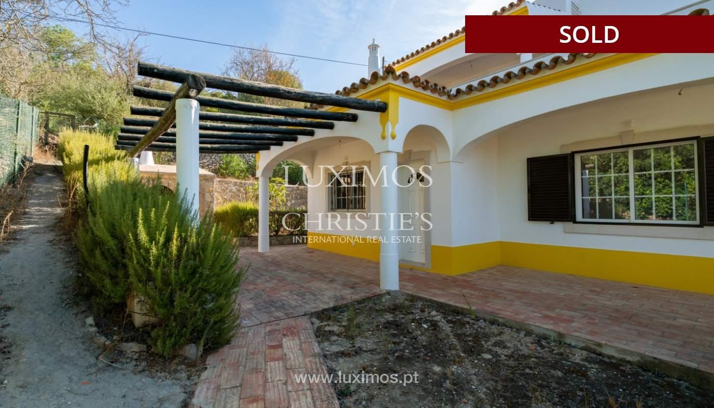 Villa de 4 dormitorios, con piscina y vista al mar, Boliqueime, Algarve_152495