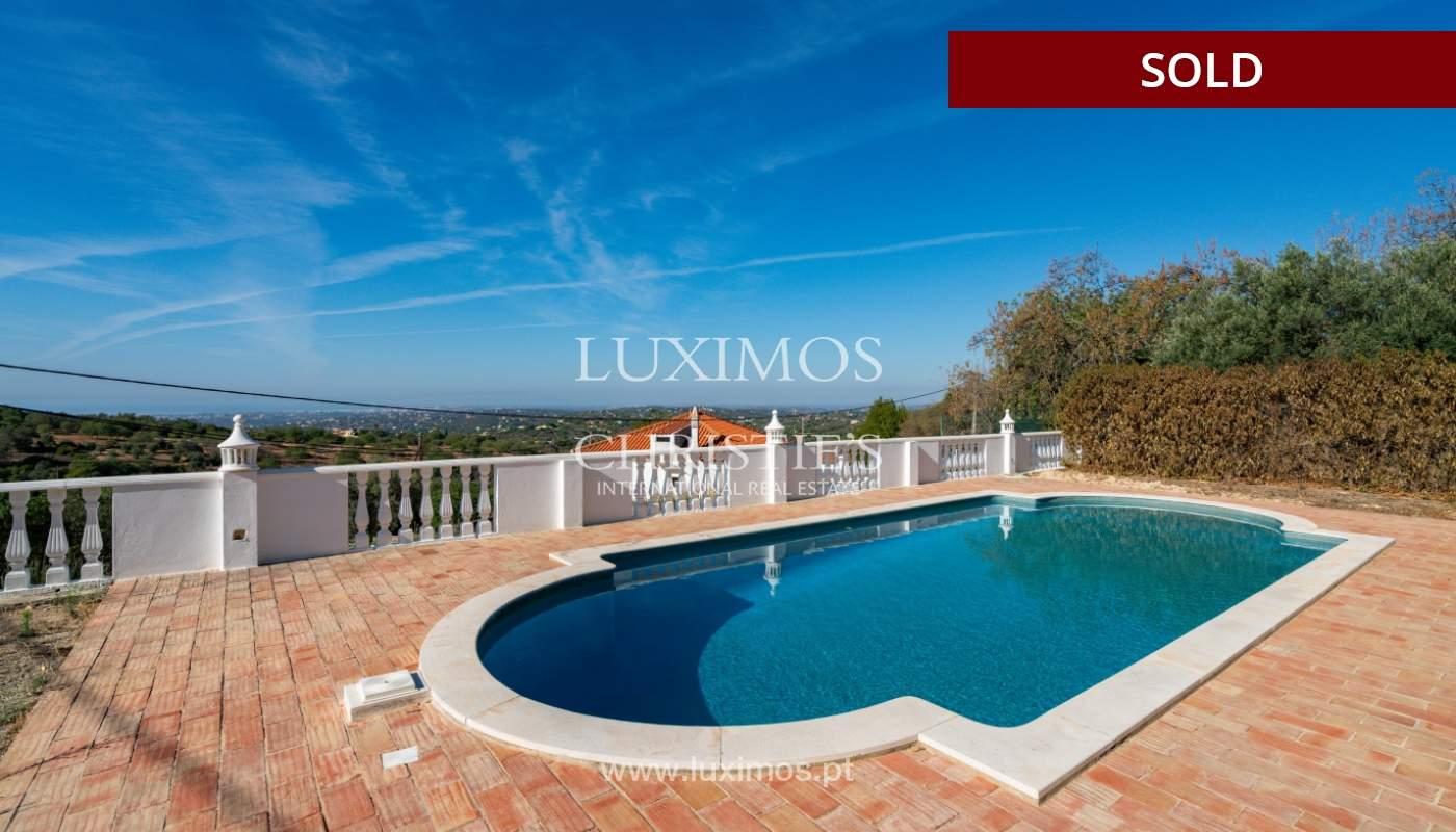 Villa de 4 dormitorios, con piscina y vista al mar, Boliqueime, Algarve_152496