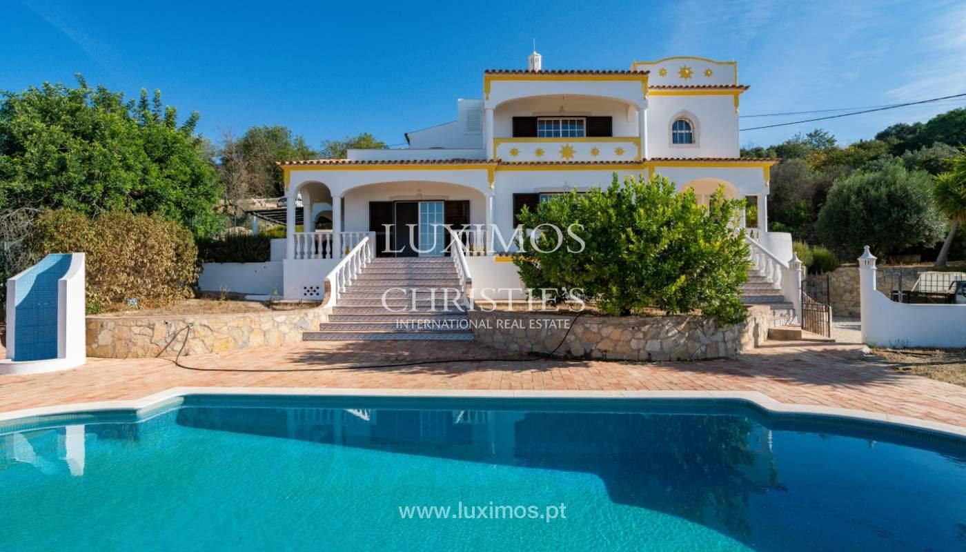 Villa de 4 dormitorios, con piscina y vista al mar, Boliqueime, Algarve_152498