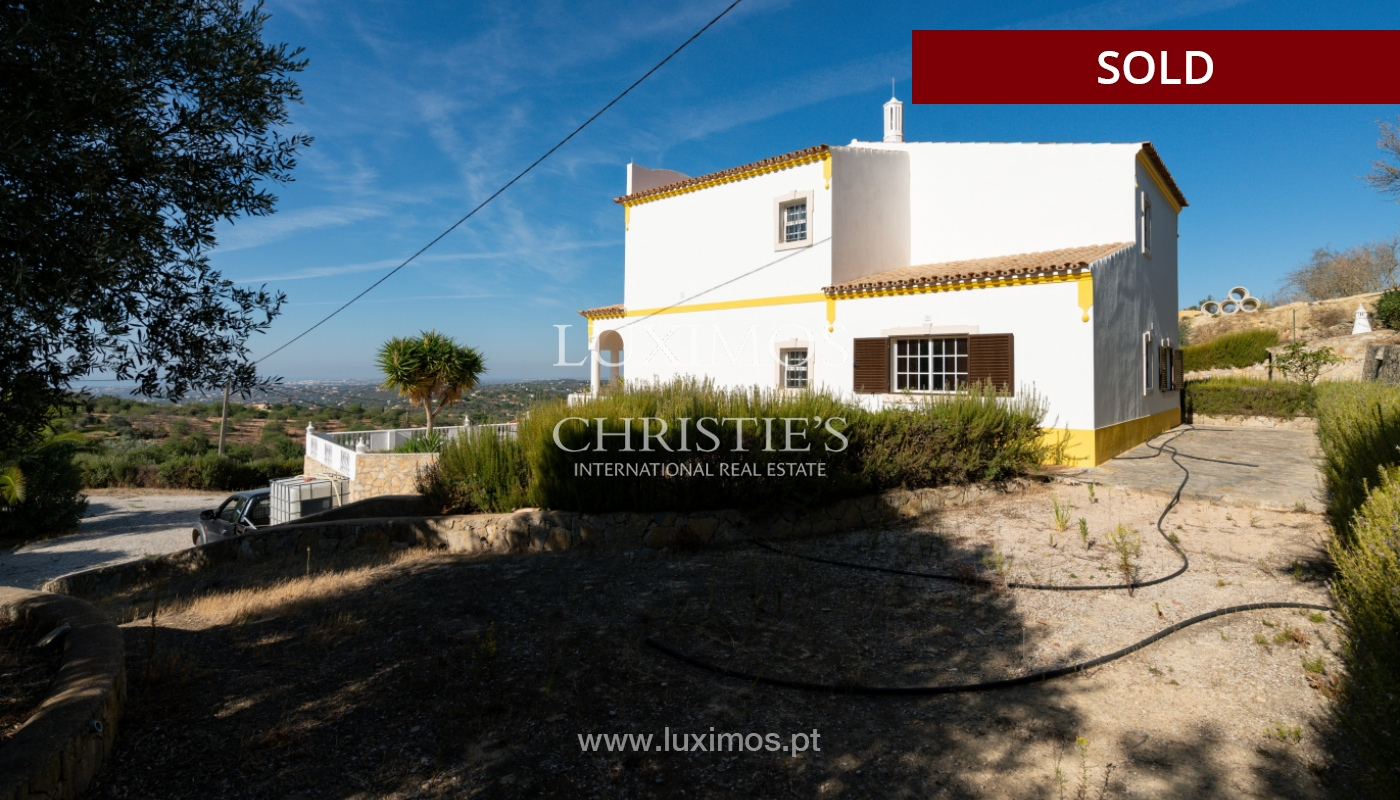 Villa de 4 dormitorios, con piscina y vista al mar, Boliqueime, Algarve_152501