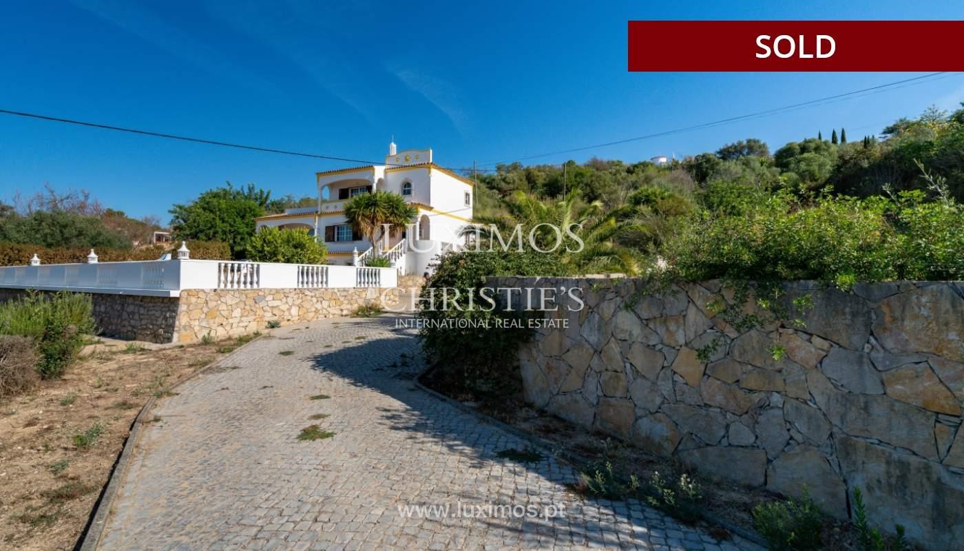 Villa de 4 dormitorios, con piscina y vista al mar, Boliqueime, Algarve_152505
