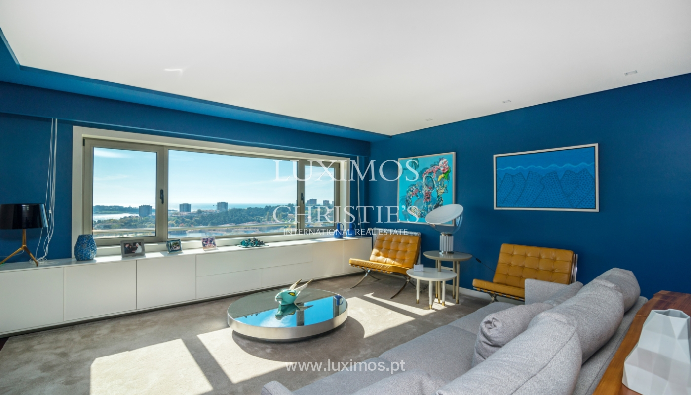 Penthouse with terrace and stunning Douro river views, Porto, Portugal_153015