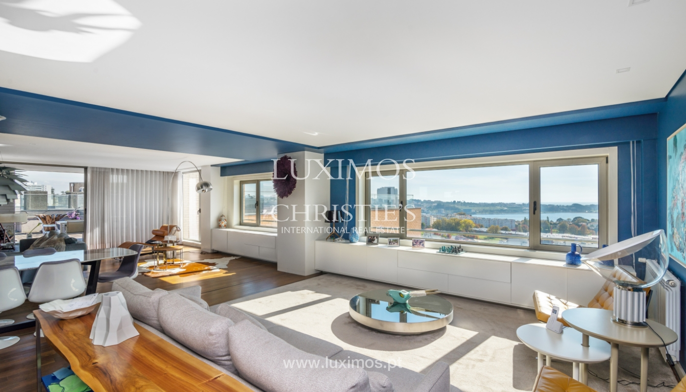 Penthouse with terrace and stunning Douro river views, Porto, Portugal_153017