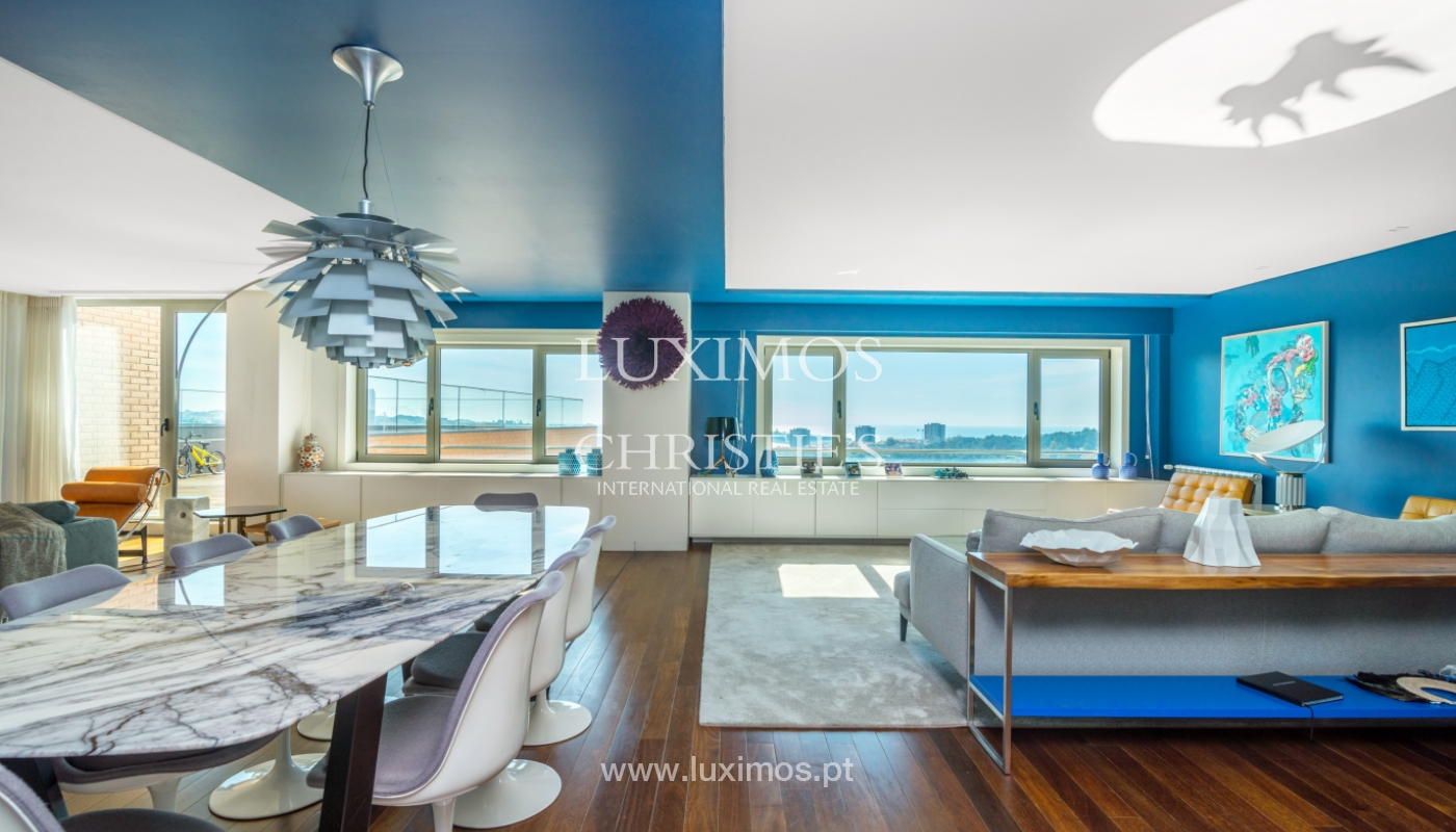 Penthouse with terrace and stunning Douro river views, Porto, Portugal_153024
