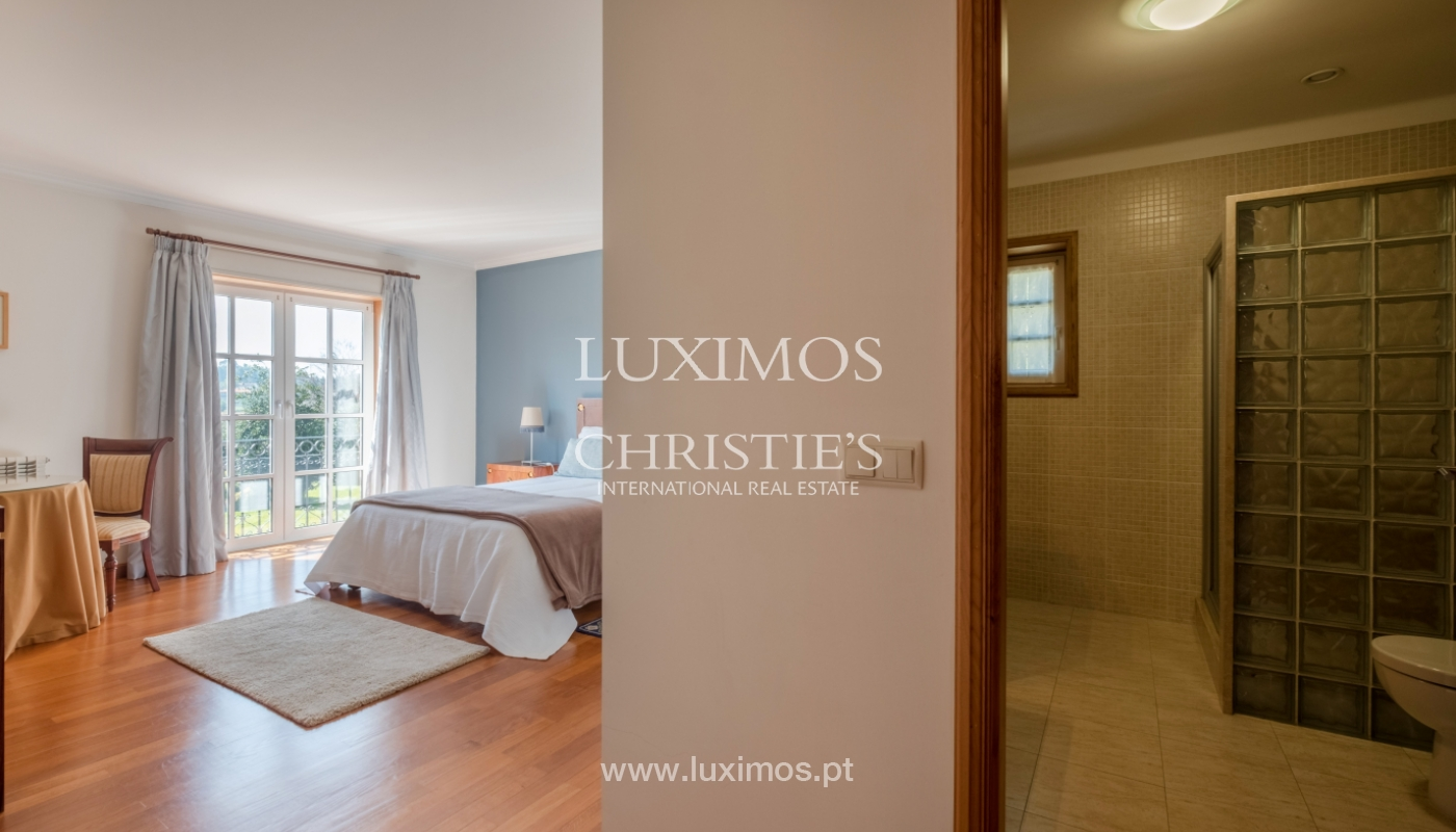 Tipical Portuguese House with garden and swimming pool, for sale, Guimarães, Portugal_153188